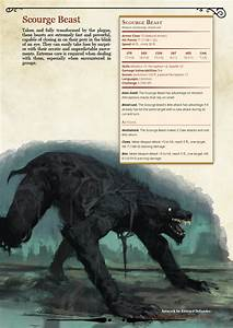Bloodborne Monster Manual By Dm Tuz