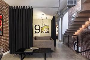 Rideau De Chambre : 1001 id es meuble de s paration diviser pour mieux r gner chez soi ~ Teatrodelosmanantiales.com Idées de Décoration