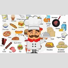 Learn Food Vocabulary In English  Food Names For Kids  English For Kids  Video About English
