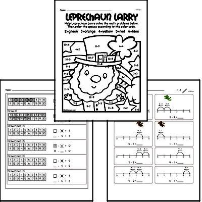 free kindergarten pdf math worksheets edhelper com