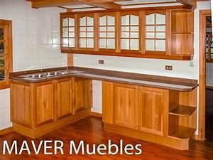 Muebles, De, Cocina, Rustico, Madera, Modernos, Dise, U00f1os, A