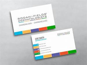 Rodan and fields business cards free shipping for Rodan and fields business card template