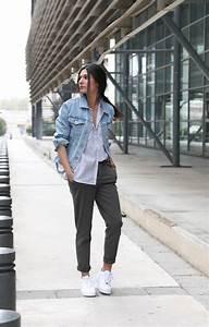 Tenue A La Mode : veste en jean oversize chino june sixty five blog mode ~ Melissatoandfro.com Idées de Décoration