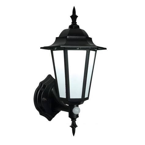 54555 evesham led pir outdoor wall light automatic