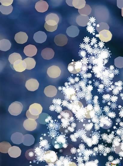 Tree Clipart Snowflakes Winter Snow Torange Biz