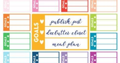 printables lovely planner