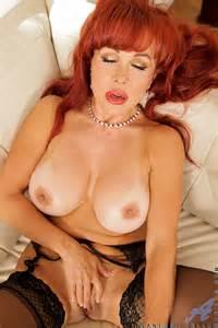 Redhead MILF Vanessa Bella Caress Her Twins MILF Fox