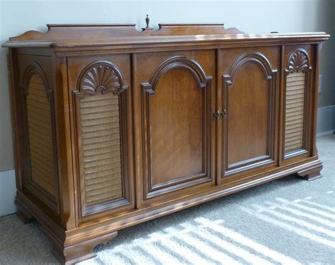 vintage tv stereo cabinet 1969 magnavox vintage record player stereo console