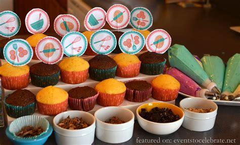 baking birthday party   celebrate