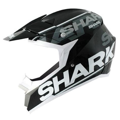 shark motocross helmets shark sx2 logo black white silver motocross http www