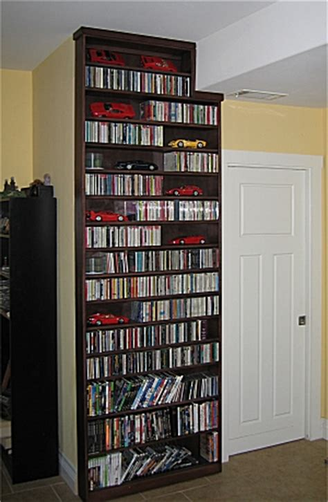 Dvd Bookcase by Woodwork Dvd Bookcases Pdf Plans