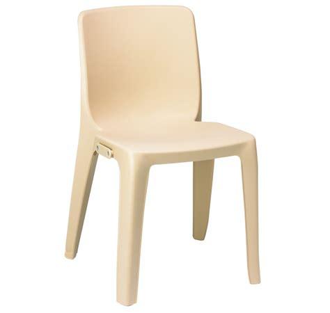 chaise collectivité chaise monobloc en plastique de collectivité chaise