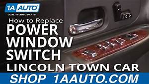 How To Replace Master Power Window Switch 98