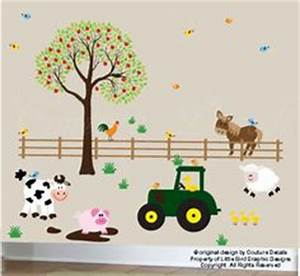 farm bedroom on pinterest nc real estate bedrooms and With cutest farm animal wall decals