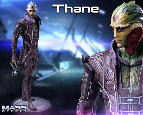 mass effect thane statue gaming heads