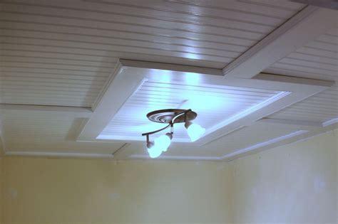 hometalk beadboard drop ceiling
