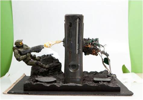 microsoft auctioning custom halo xbox 360 console for