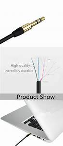 Promotional Aux Cable Wholesale For Iphone 7 Stereo Audio