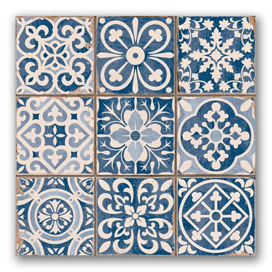 tapestry tiles tapestry blue patterned tiles porcelain superstore