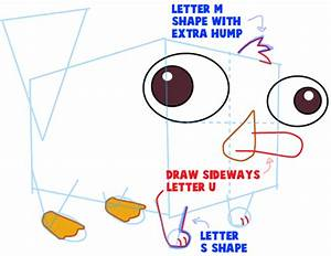 How to Draw Baby Perry the Platypus from Phineas and Ferb ...