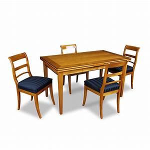Esstisch Stühle : ausziehbarer esstisch mit vier st hlen bei stilwohnen kaufen ~ Pilothousefishingboats.com Haus und Dekorationen