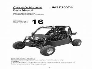 Joyner 250 Buggy - Wiring Diagram - Owners Manual