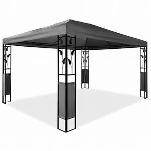 Gartenpavillon Metall 3x4 : pavillon 3 x 4 m design gartenpavillon gartenzelt festzelt ~ A.2002-acura-tl-radio.info Haus und Dekorationen