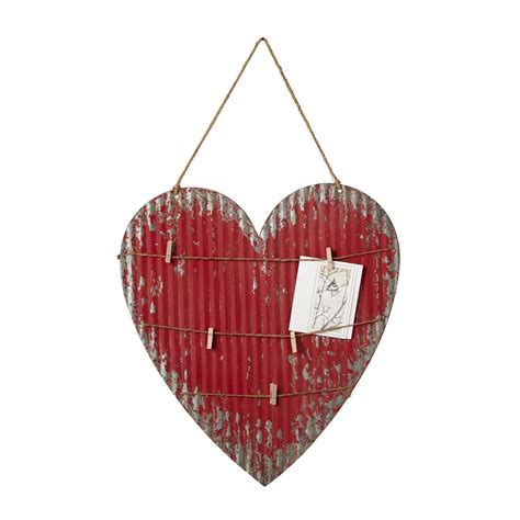 This mexican painted heart wall decoration combines the artistic soul and spiritual heritage of mexico's people. CBK 139218 Metal Heart Wall Decor   Hope Home Furnishings ...