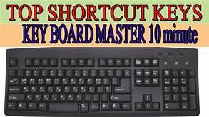 அறிந்து கொள்வோம் - Computer  Keyboard Shorcuts (100 Shortcut Keys)