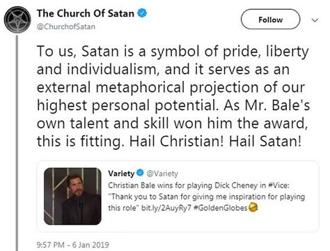 Golden Globes Dick Cheney Daughter Slams Christian Bale