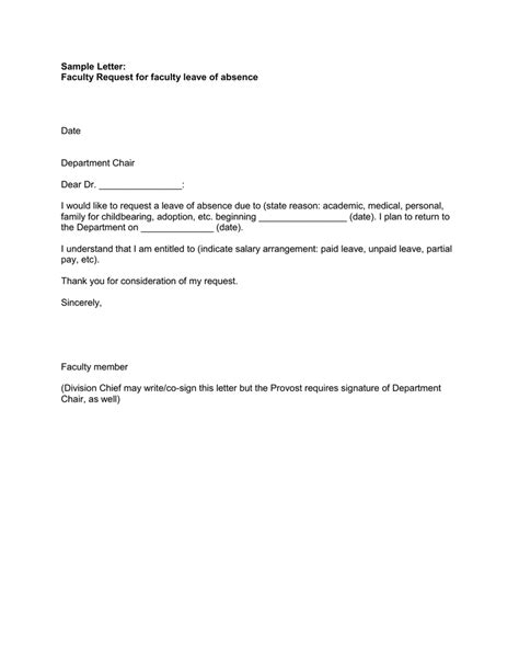 vacation leave salary request letter leancy travel