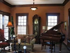 img 9291jpg With dining room paint colors dark wood trim