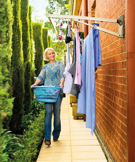 category wall mounted drying rack clotheslines
