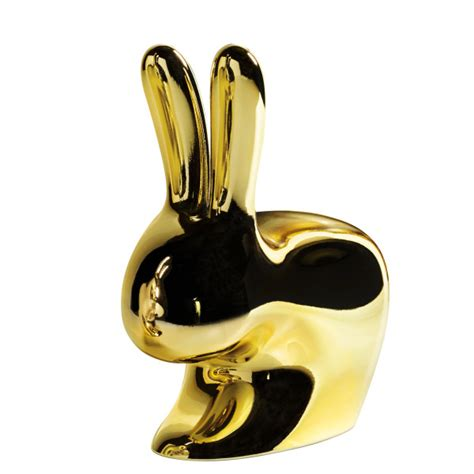 this is not a rabbit this is rabbit chair gold