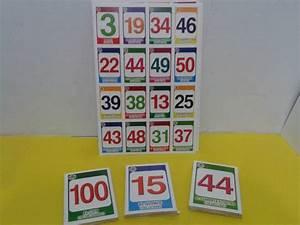 Loteria Didáctica Números Juego Matemáticas Escuela $ 30 00 en Mercado Libre
