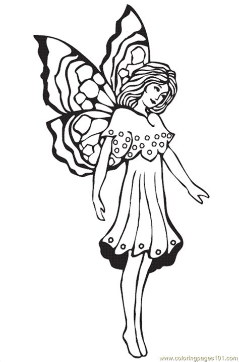 Coloring Pages Fairies 5 (Cartoons > Disney Fairies