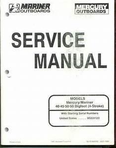 Mercury 50 Hp Manual