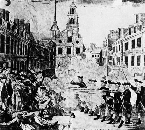 Boston Massacre by What Really Happened In The Boston Massacre Radio Boston