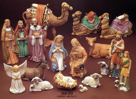 nativity sets painted turtle