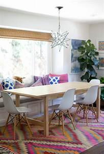 tapis persan kilim colore interieur design salon With tapis persan avec canapé lisa design