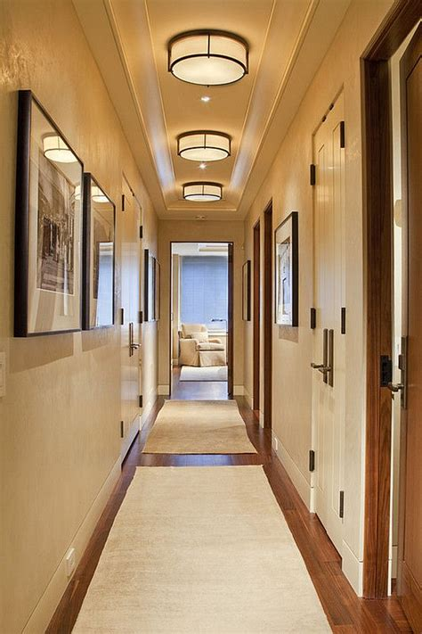 Beleuchtung Langer Flur by Don T Neglect Your Hallway Welcome Into Your Home