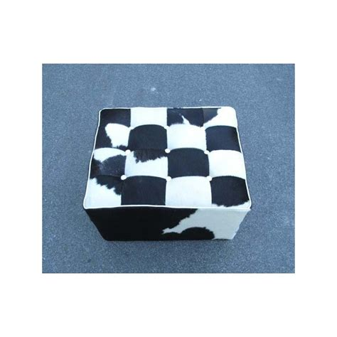 Cowhide Ottoman Cube by Cowhide Ottoman Cube Stool By Design By Free Shipping