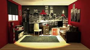 deco chambre new york ado With chambre garcon new york