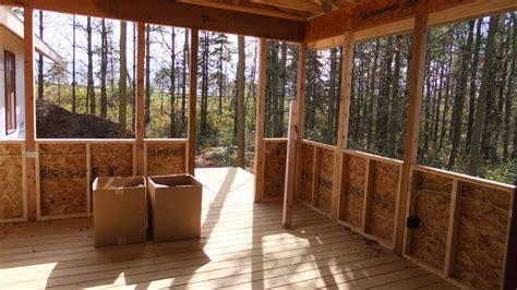 Closed Patio Design by Pine Hill Farm Homes Neighborhood Wi