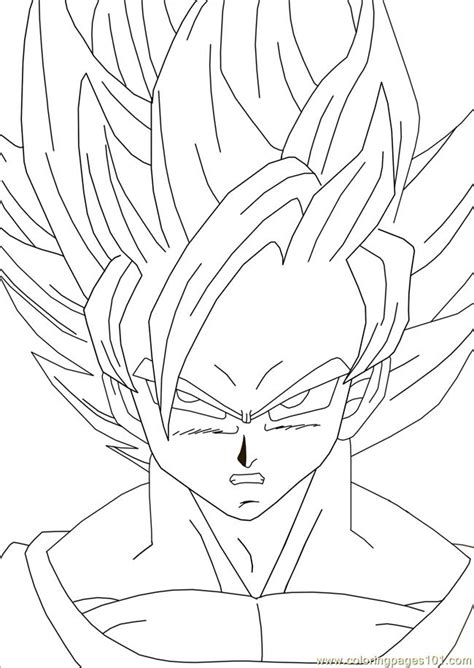 goku dragon ball coloring pages kids coloring pages