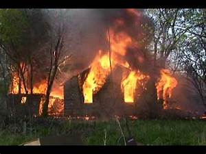 Battalion 7 Finds A Fully Involved House Fire In Gary