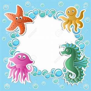 Cute Baby Sea Animals Clipart (52+)