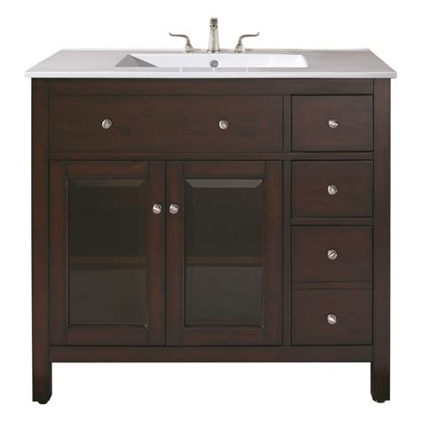 single sink bathroom vanity  ceramic