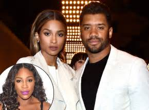 Ciara Serena Williams and Russell Wilson Wedding