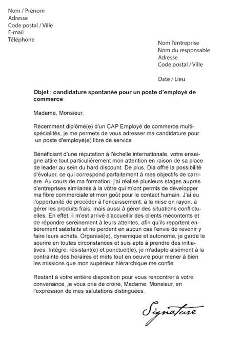 lettre de motivation employe de bureau lettre de motivation candidature spontan 233 e employ 233 polyvalent mise en demeure 2018